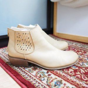 Crown Vintage 'Cvalendale' Tan Booties 8.5
